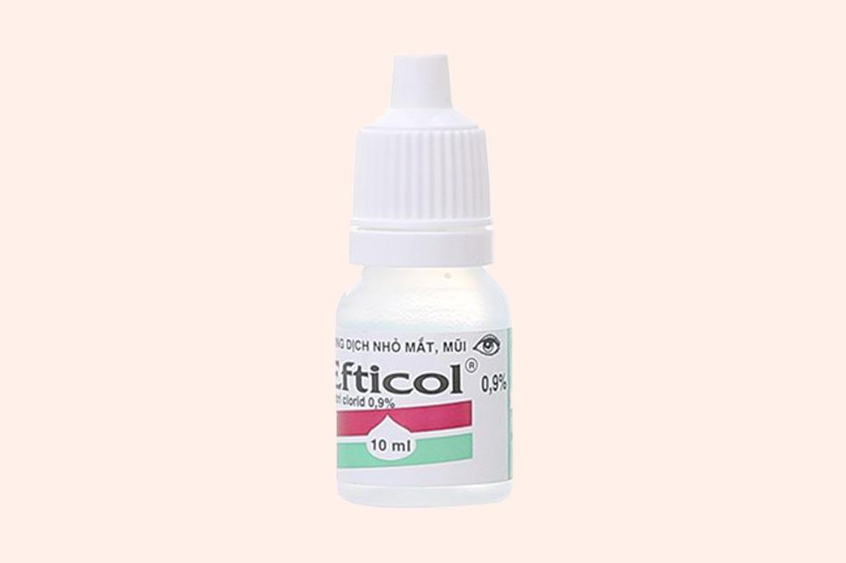 Hình ảnh lọ thuốc nhỏ mắt Efticol