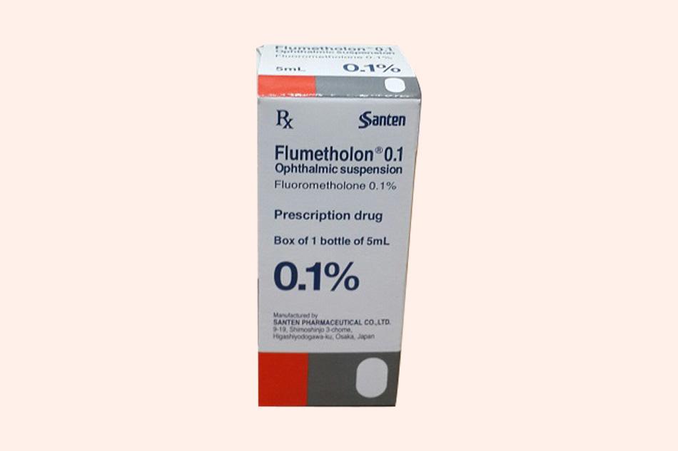 Flumetholon 0.1% xuất xứ từ Nhật Bản