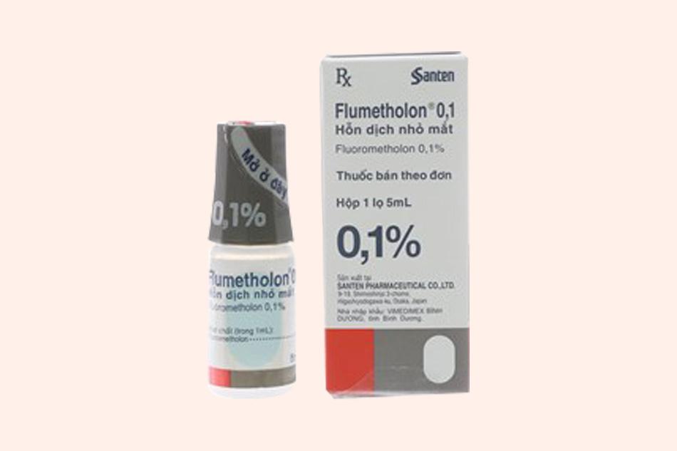 Hình ảnh lọ thuốc Flumetholon 0.1%