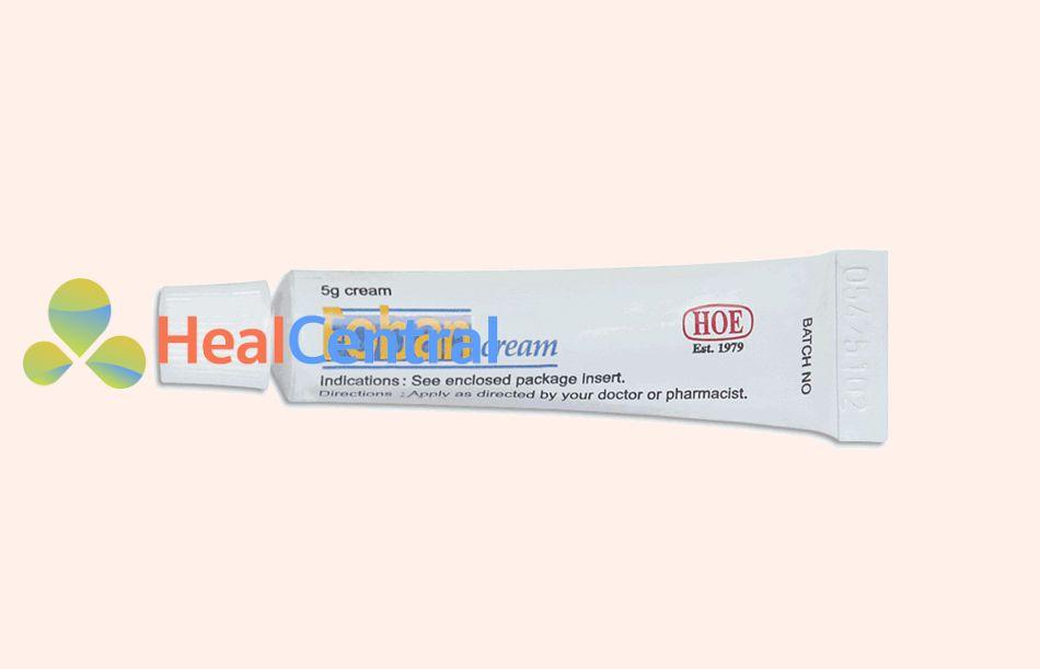 Hình ảnh: Tuýp thuốc Foban cream 5g