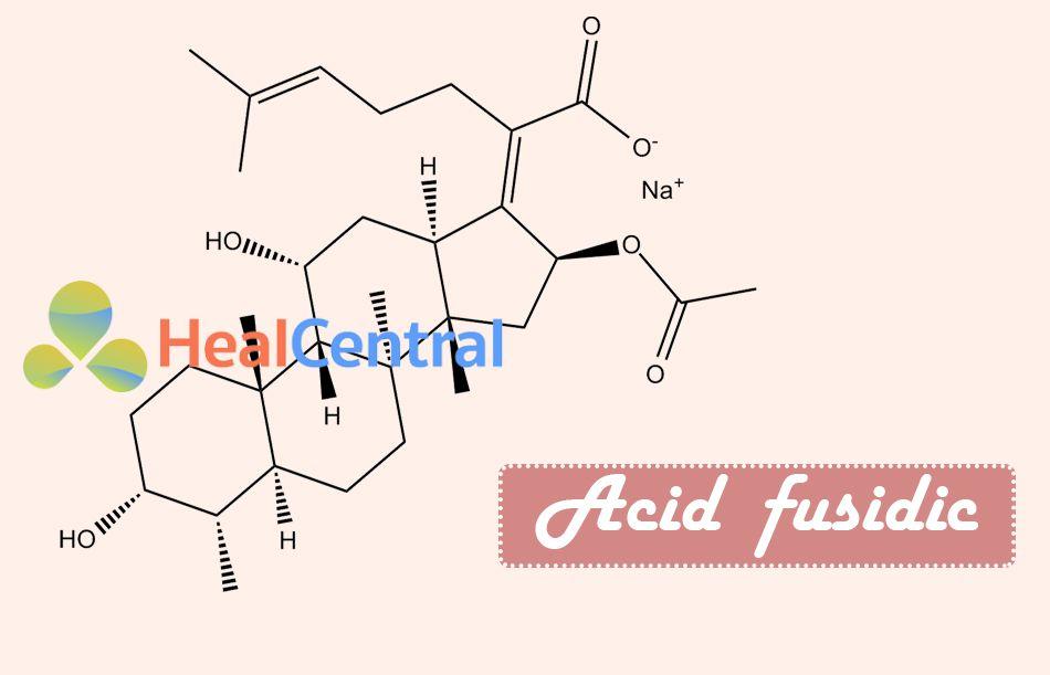 Công thức hóa học của Acid Fusidic