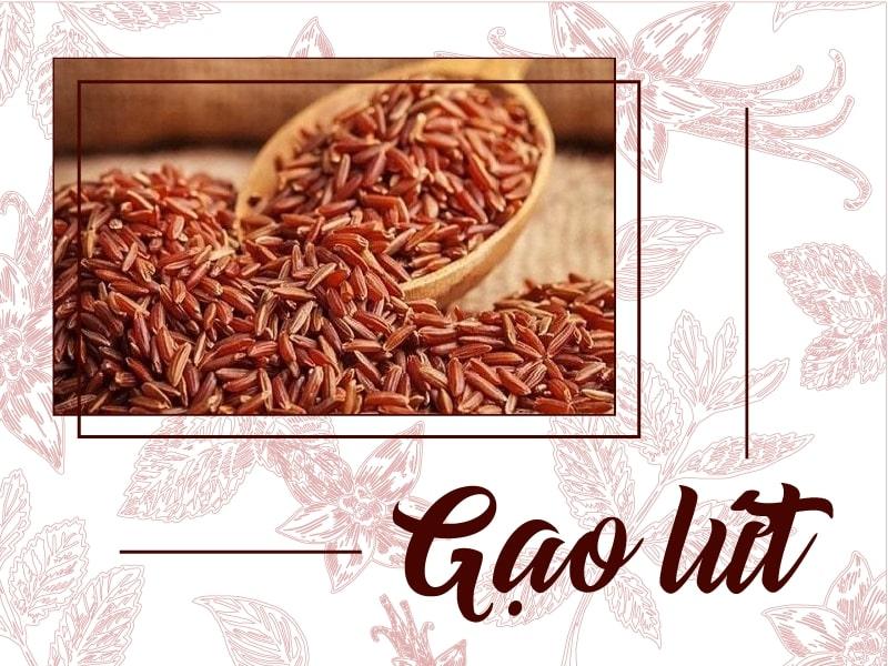 Gạo lứt có nhiều tác dụng tốt với sức khỏe.