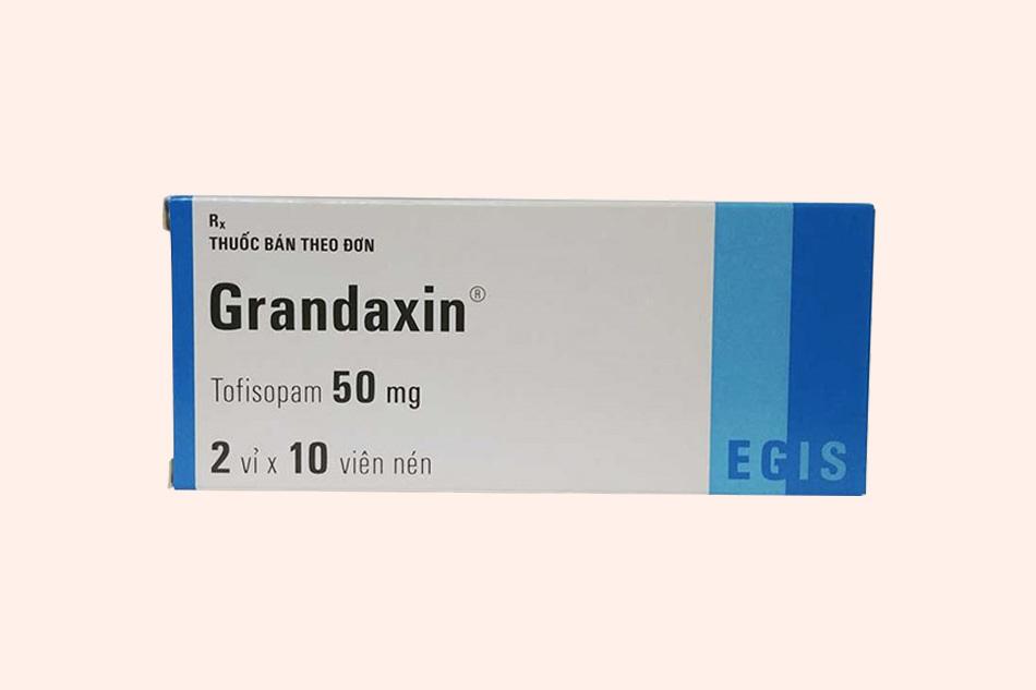 Hình ảnh hộp thuốc Grandaxin 50mg