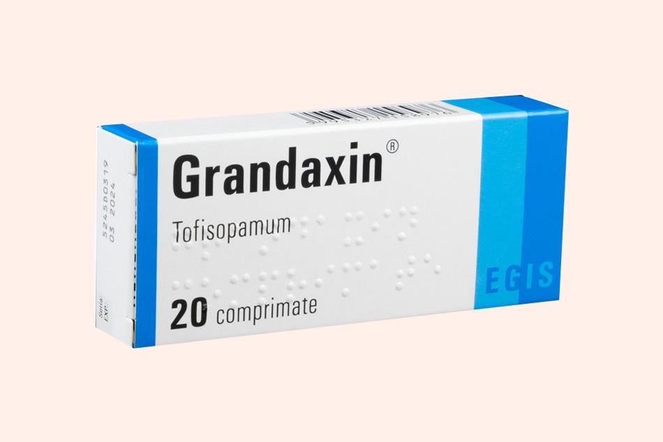 Thuốc Grandaxin chứa thành phần Tofisopam 50mg