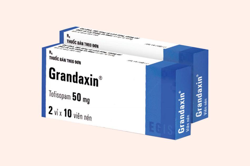 Thuốc Grandaxin 50mg điều trị rối loạn tâm thần
