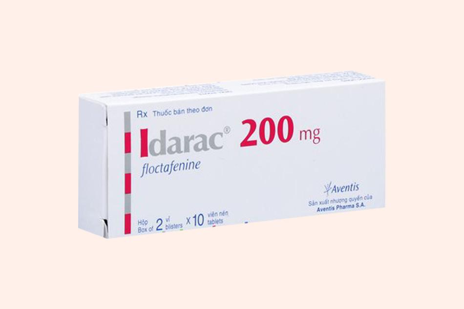 Hình ảnh hộp thuốc Idarac