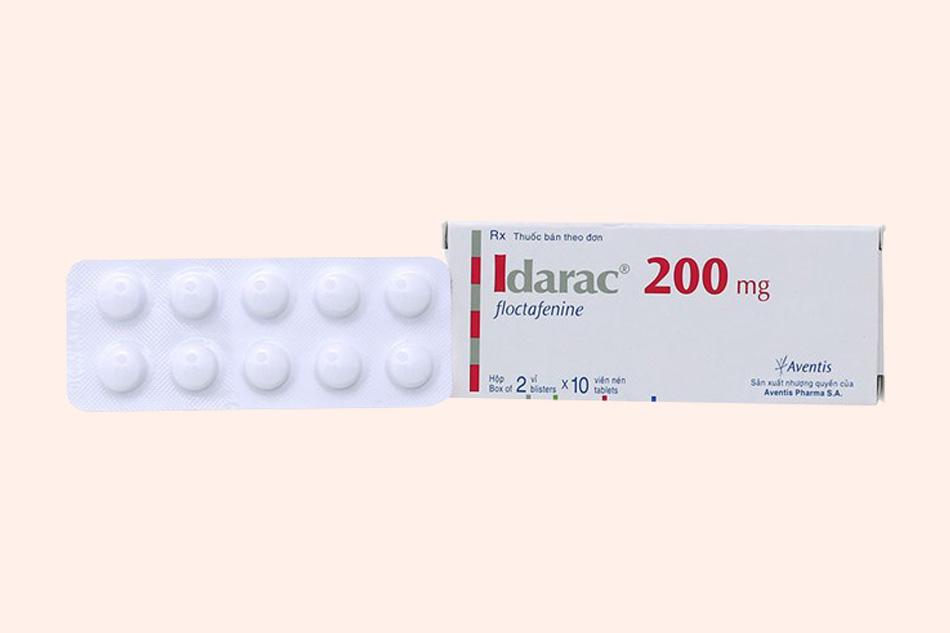 Hình ảnh vỉ thuốc Idarac