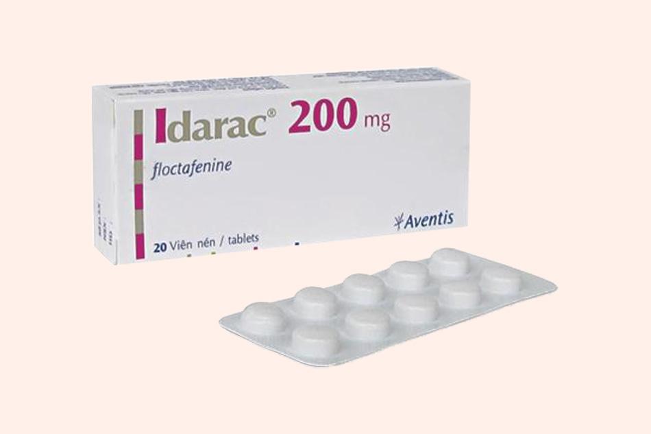 Thuốc Idarac có công dụng giảm đau