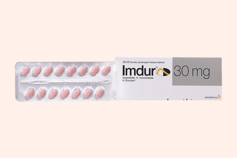 Hình ảnh vỉ thuốc Imdur 30mg