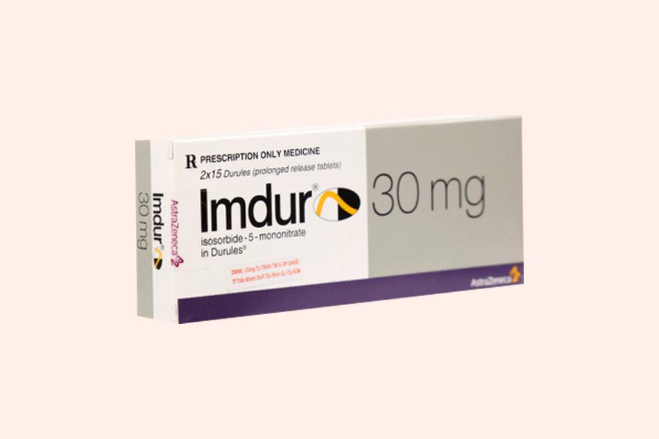 Hình ảnh hộp thuốc Imdur 30mg