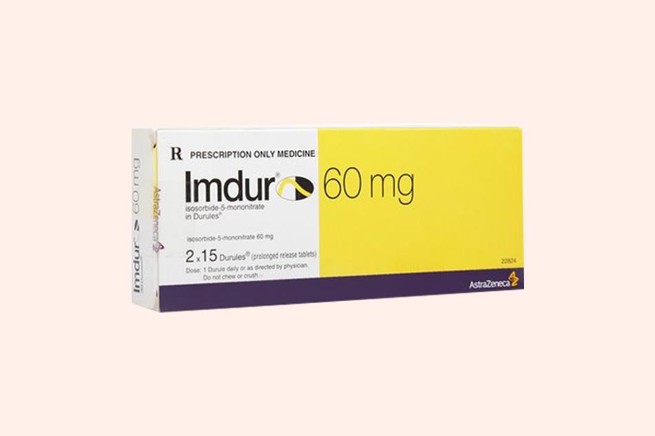 Hình ảnh hộp thuốc Imdur 60mg