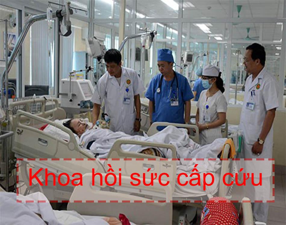 Hình ảnh khoa hồi sức cấp cứu của bệnh viện