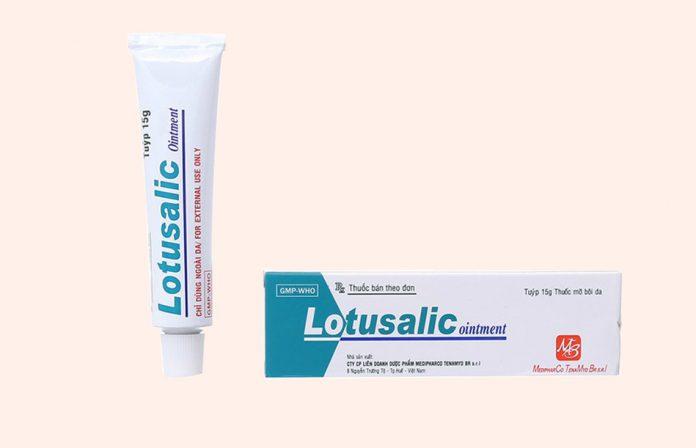Thuốc Lotusalic ointment