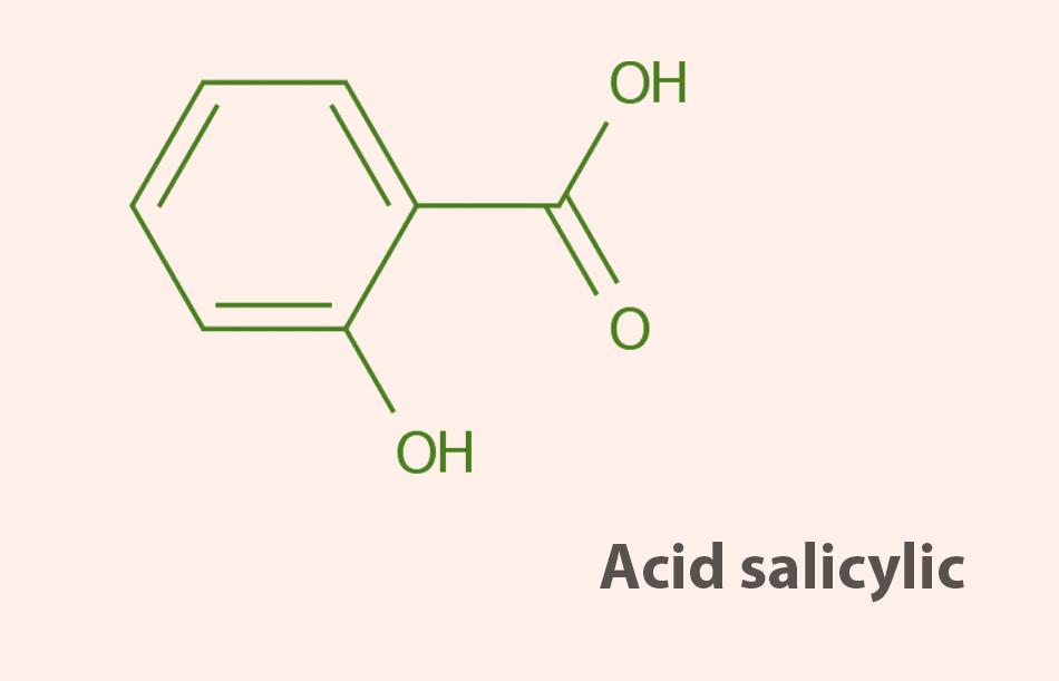 Công thức hóa học của Acid Salicylic