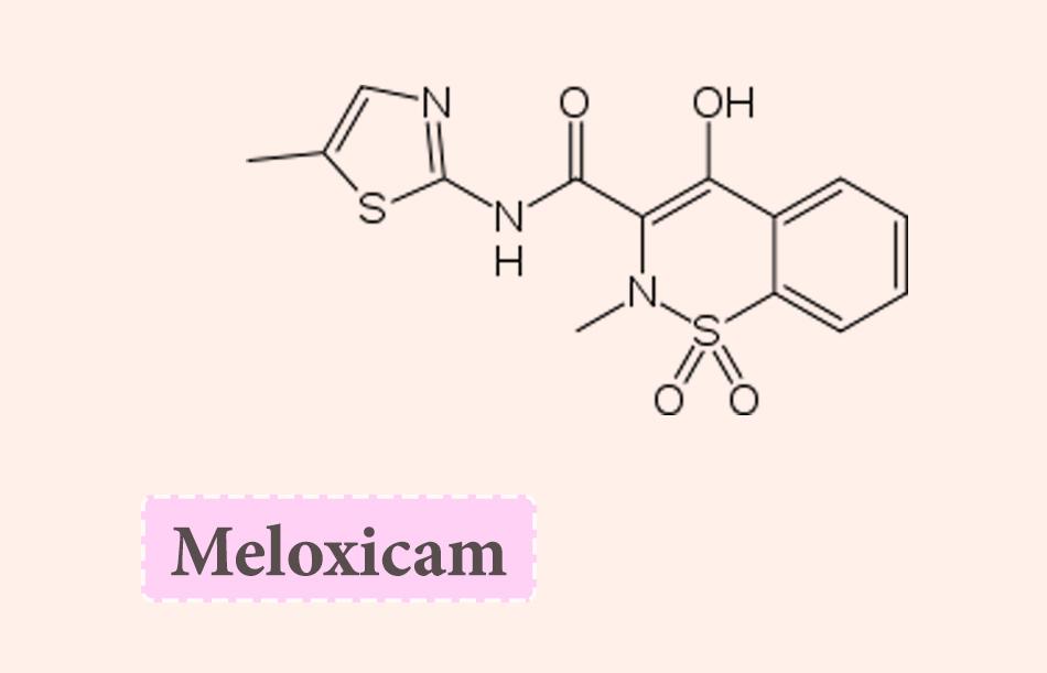 Công thức hóa học của Meloxicam