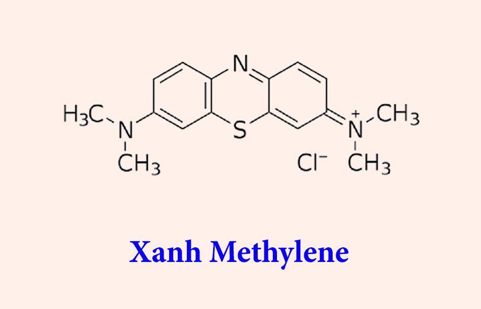 Công thức hóa học của Xanh Methylene