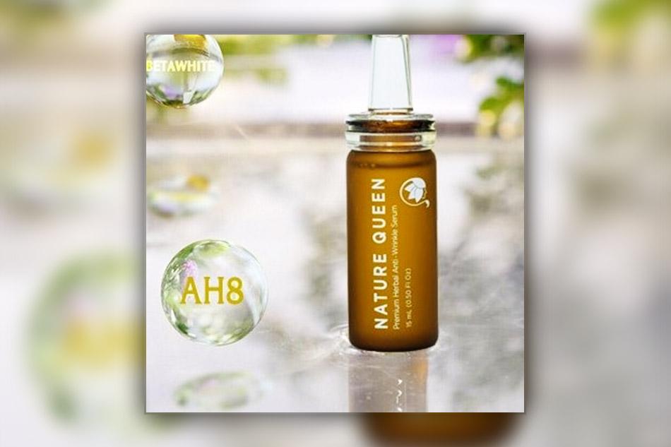 Nature Queen serum được tích hợp tinh chất trẻ hóa AH8