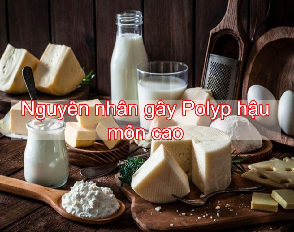 Nguyên nhân gây polyp hậu môn cao