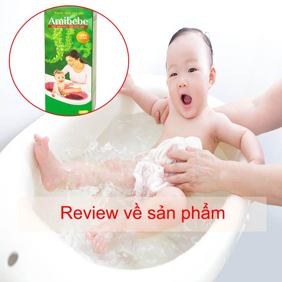 Review về sản phẩm Amibebe