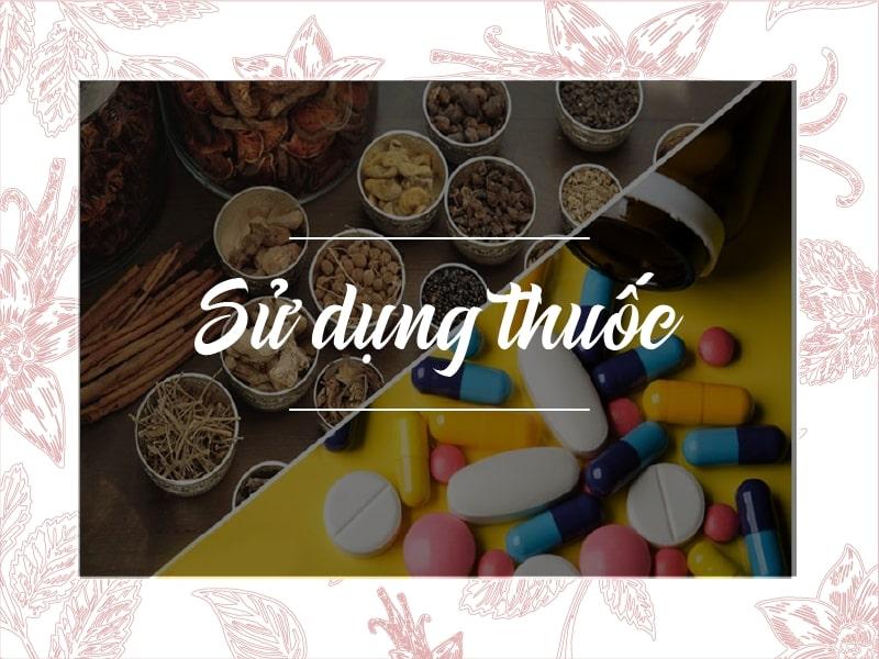 Sử dụng các loại thuốc Tây y trong điều trị bệnh nóng trong người