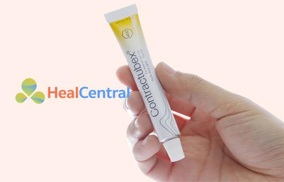 Thuốc trị sẹo thủy đậu Contractubex