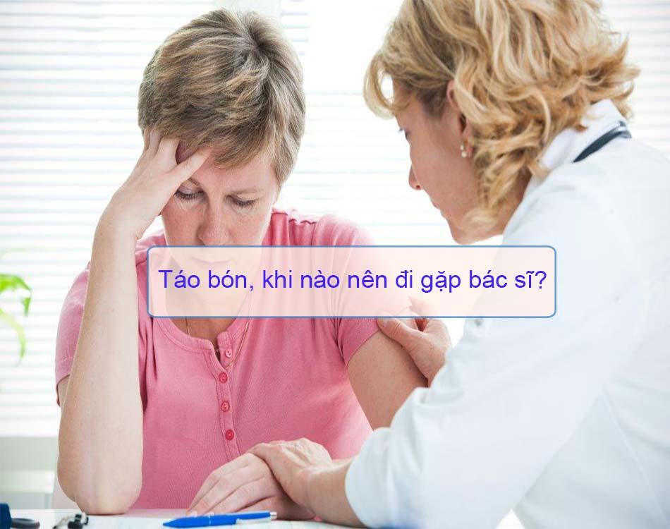 Táo bón, khi nào nên đi gặp bác sĩ?