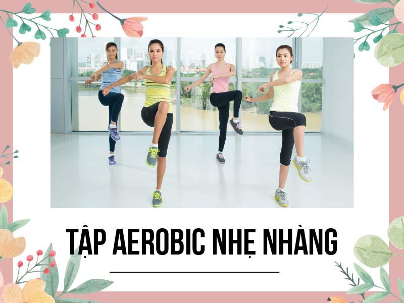 Tập Aerobic nhẹ nhàng giúp đẩy lùi viêm khớp