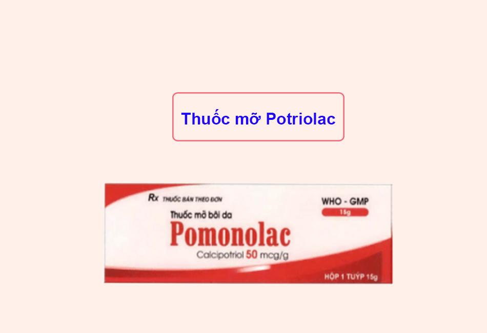 Thuốc mỡ Potriolac