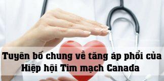 Tuyên bố chung về tăng áp phổi của Hiệp hội Tim mạch Canada - Hiệp hội lồng ngực Canada