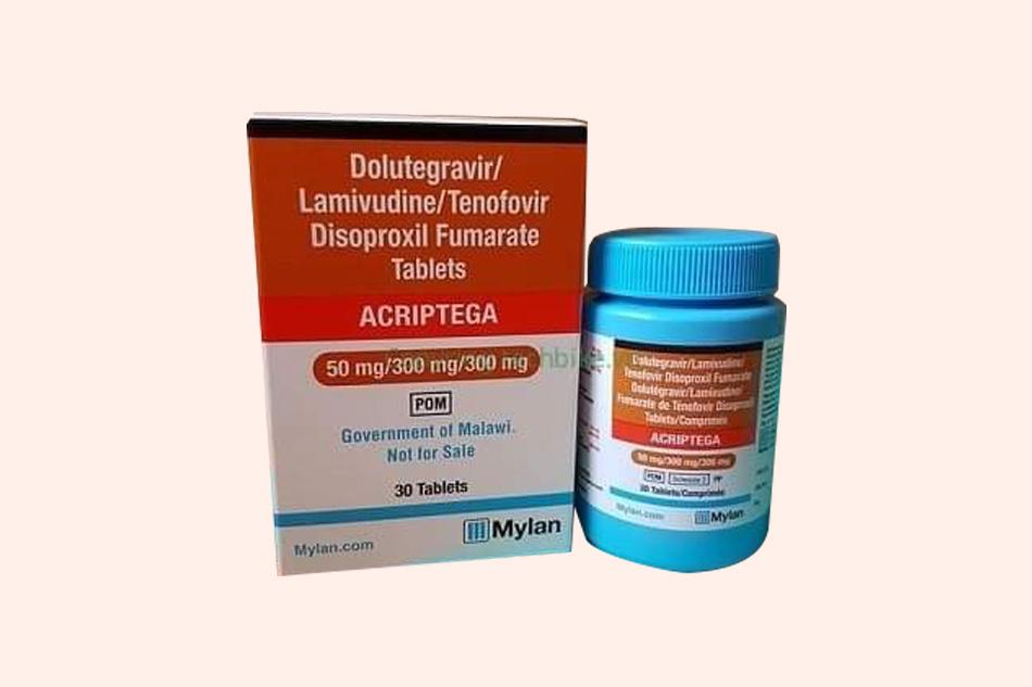 Hình ảnh hộp thuốc Acriptega