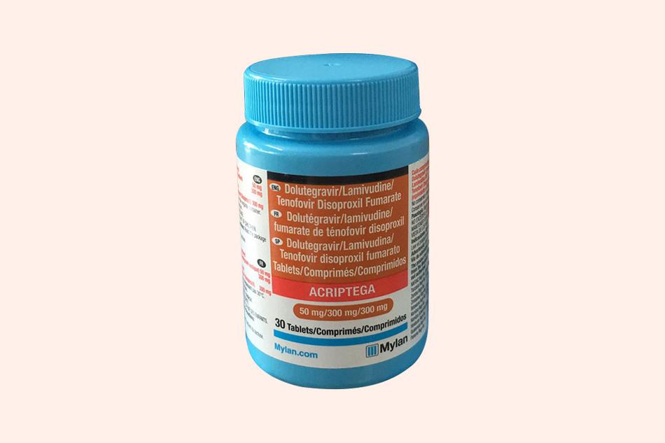 Hình ảnh lọ thuốc Acriptega