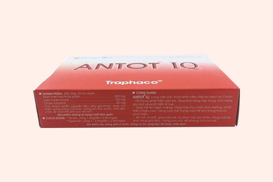 Antot IQ sản xuất bởi Công ty Traphaco