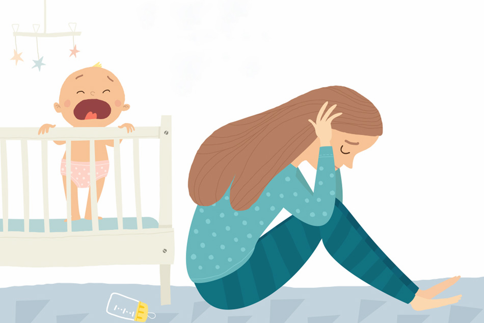 Trầm cảm ở phụ nữ sau sinh