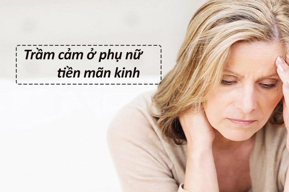 Trầm cảm ở phụ nữ tiền mãn kinh