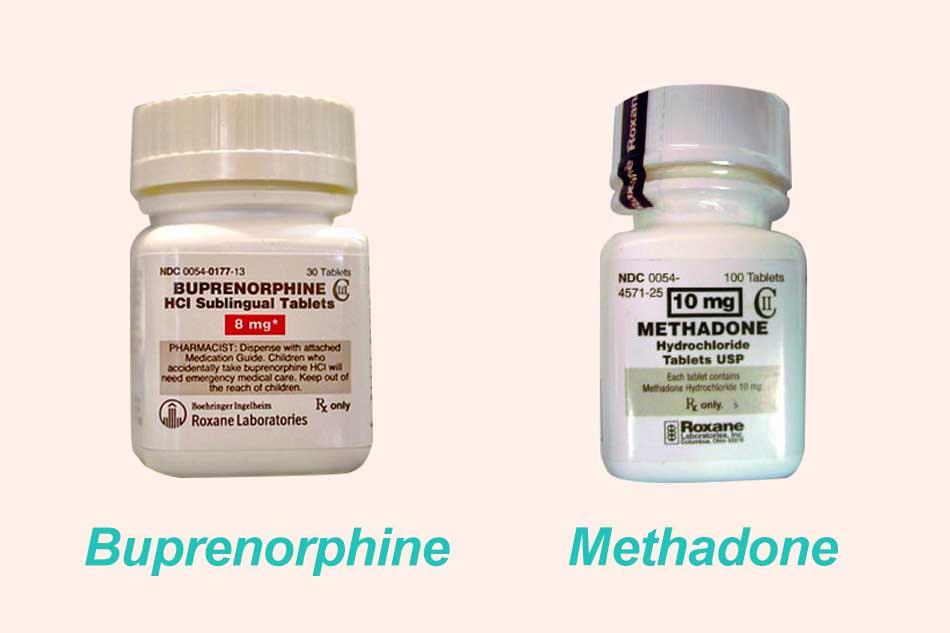So sánh giữa Buprenorphine và Methadone
