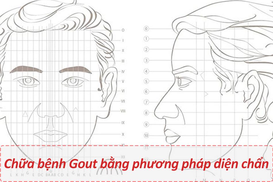 Chữa bệnh Gout bằng phương pháp diện chẩn