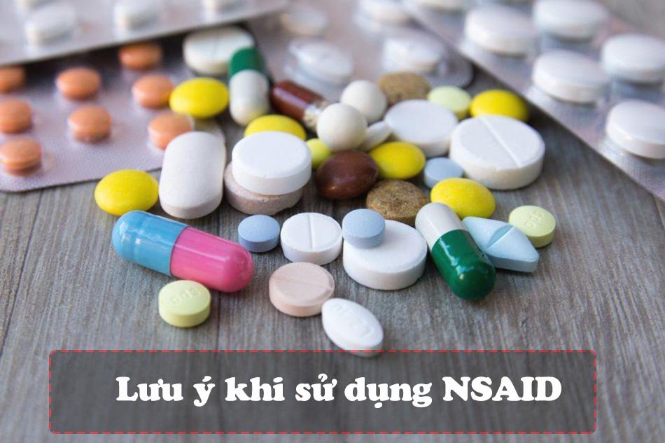 Lưu ý khi sử dụng thuốc NSAIDS