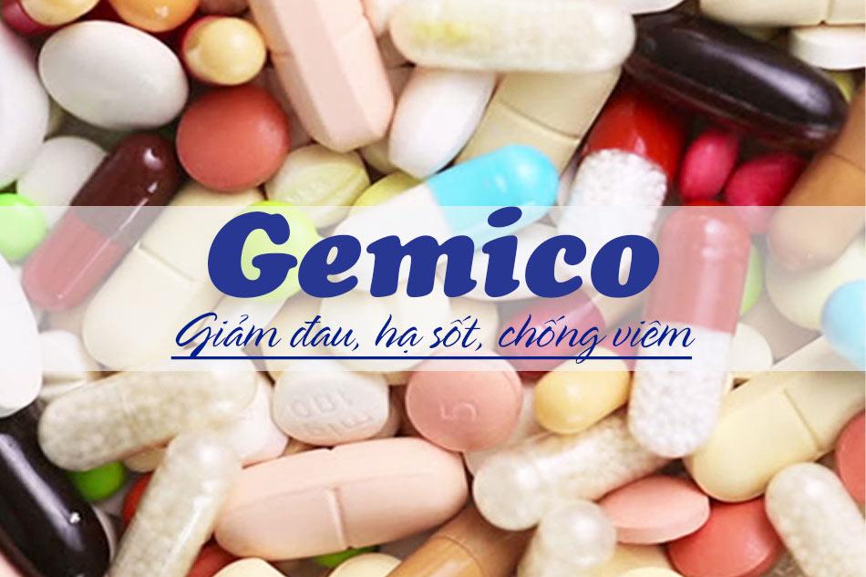 Gemico là thuốc gì?