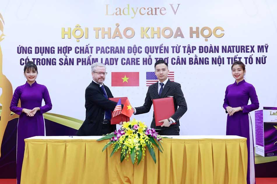 Hội thảo của chuyên gia về sản phẩm Lady Care V