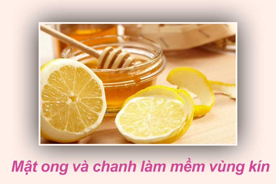 Làm mềm lông vùng kín hiệu quả bằng hỗn hợp đường, mật ong và chanh