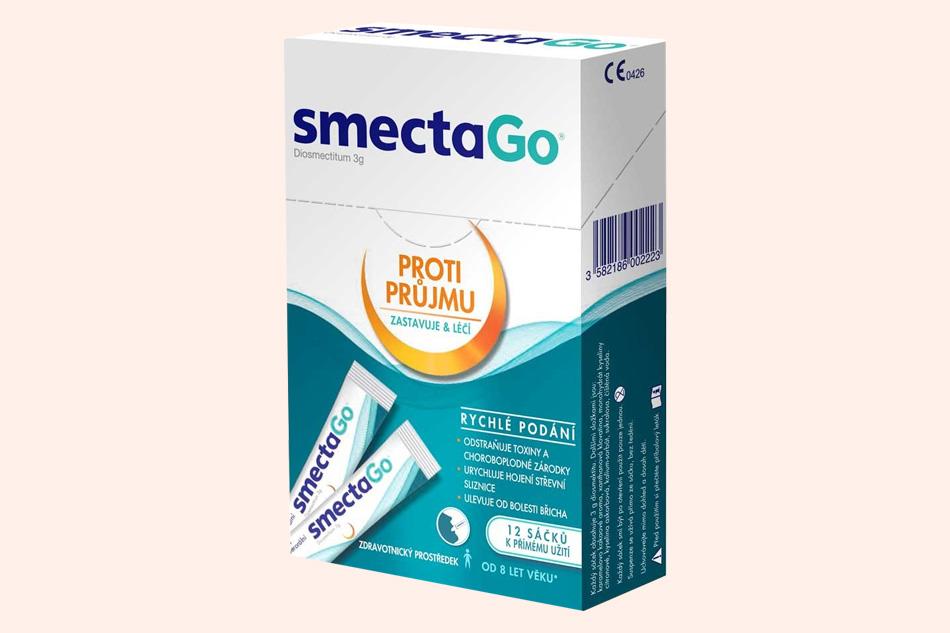Smecta Go điều trị bệnh tiêu chảy