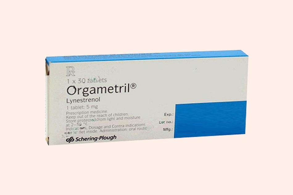 Sử dụng thuốc Orgametril để trì hoãn kinh nguyệt