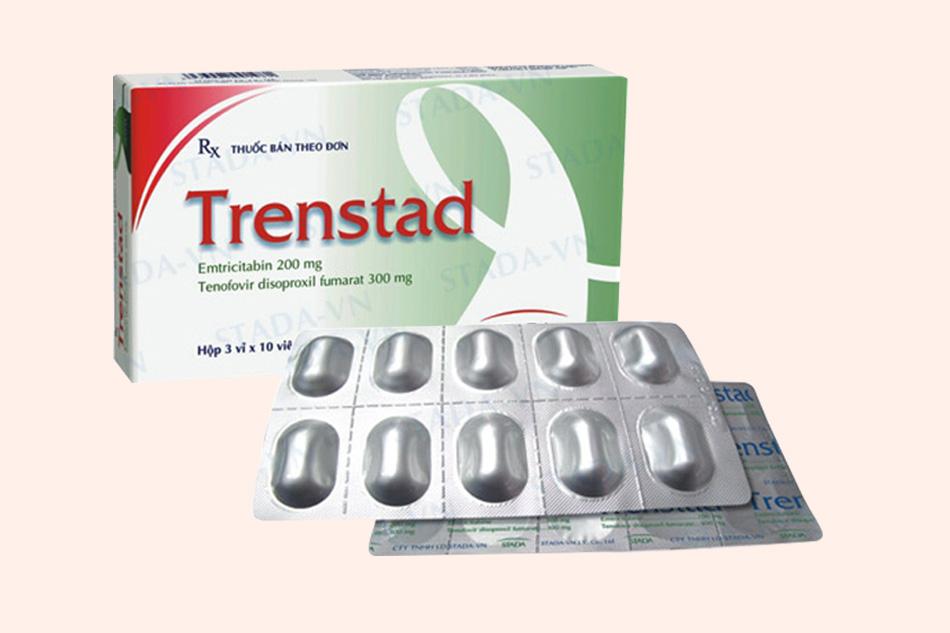 Hình ảnh hộp thuốc Trenstad