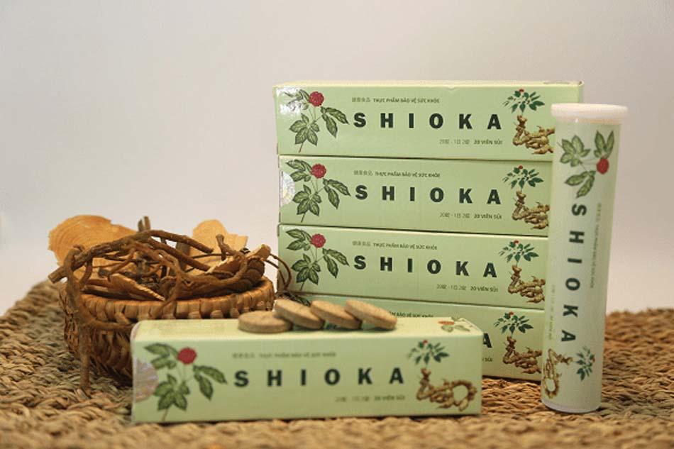 Viên sủi Shioka hỗ trợ cho bệnh nhân u xơ tử cung