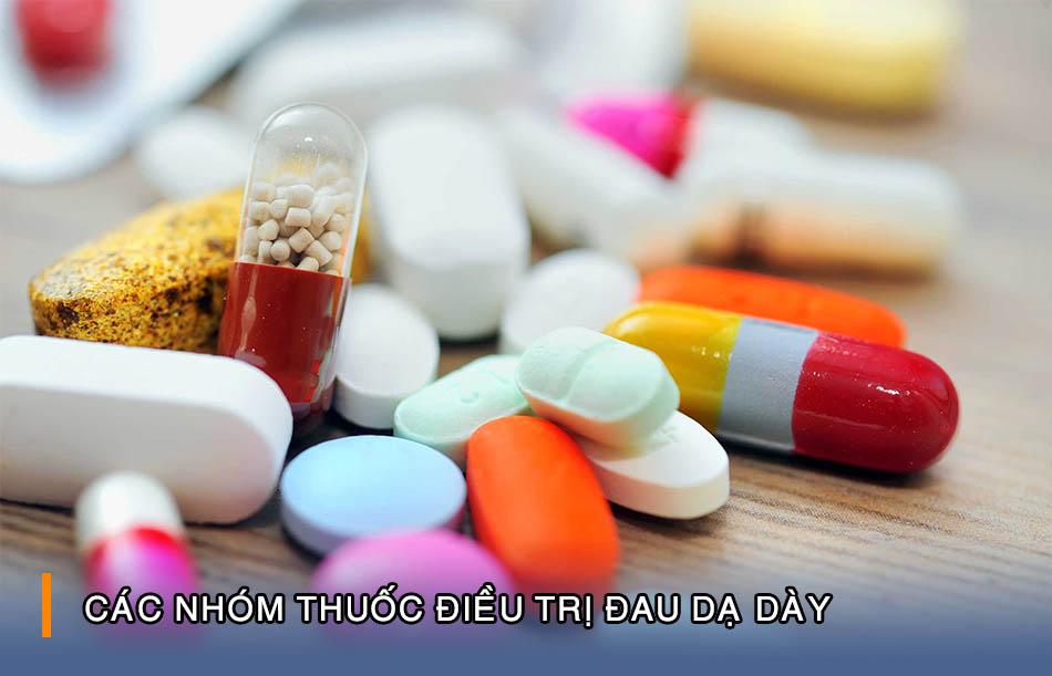 Điều trị đau dạ dày bằng thuốc