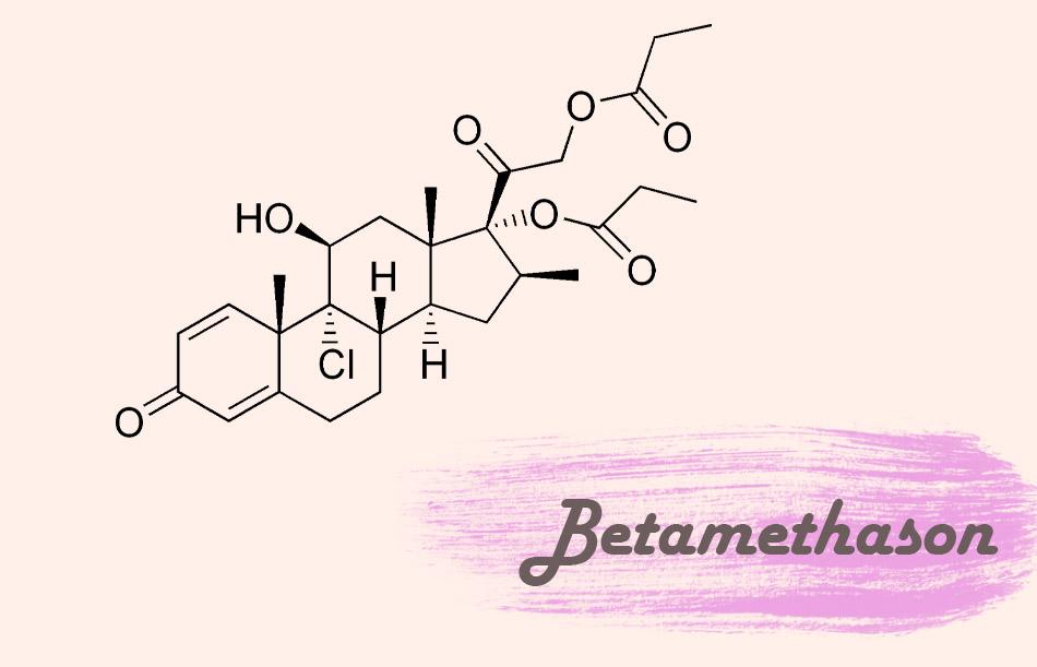 Công thức hóa học của Betamethason