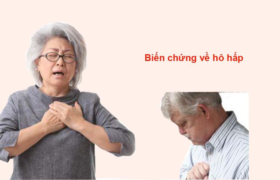 Biến chứng về hô hấp