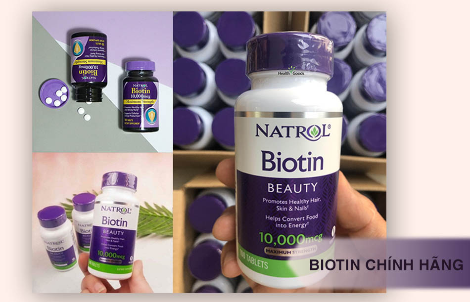 Biotin Natrol chính hãng