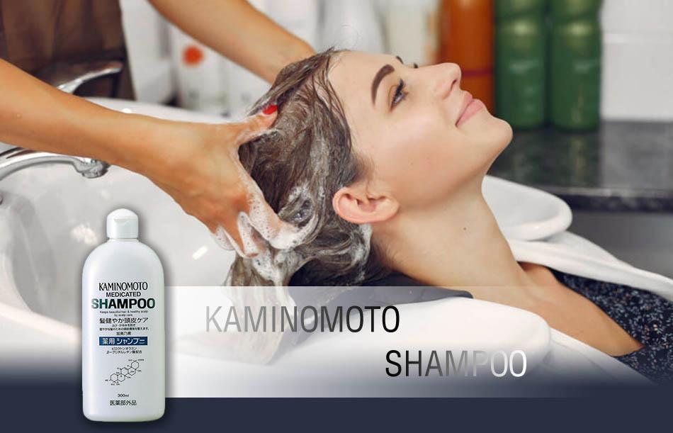 Cách sử dụng dầu gội Kaminomoto