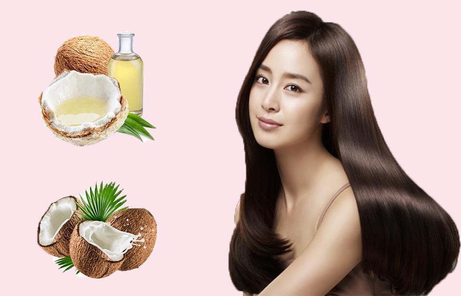 Tác dụng của dầu dừa đối với tóc?